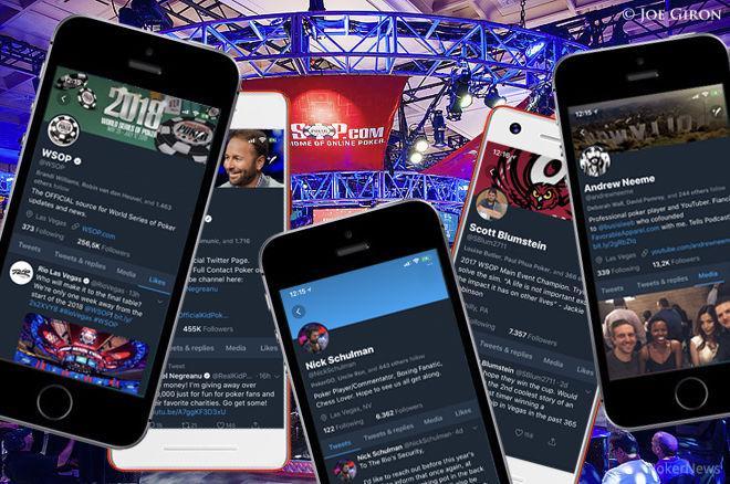 Poker twitter accounts organisation poker entre amis