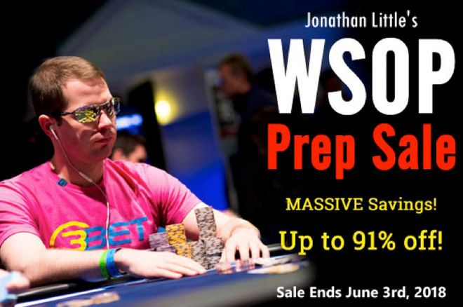 Jonathan Little's World Series of Poker Prep Sale