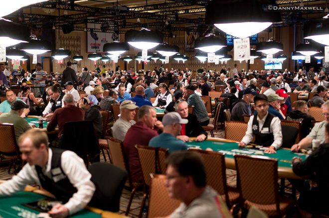 WSOP Tournament Room