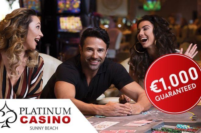 Всекидневни турнири с 1,000 евро гарантирани в Платинум казино