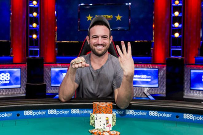 Joe Cada wins WSOP 2018 Event 3: $3,000 NLHE SHOOTOUT for $226,218