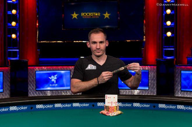 Dominavimas tęsiasi: Justino Bonomo rankose - WSOP trofėjus 0001