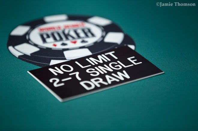 Rios Top 20 Least Attended WSOP Events Are Primarily 2 7 Draw