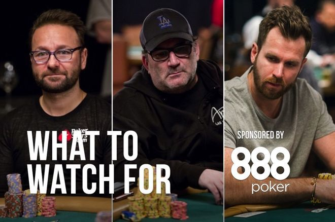 Daniel Negreanu (left), Mike Matusow (center), John Racener (right)