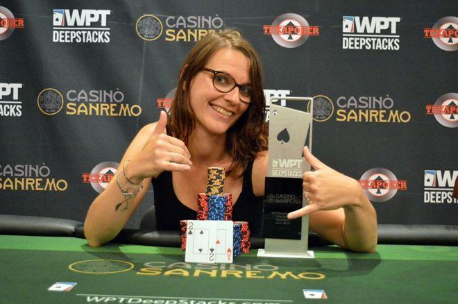 WPTDS San Remo : Mélanie Hafeli rafle le trophée et transforme un freeroll en plus de 55.000€ 0001