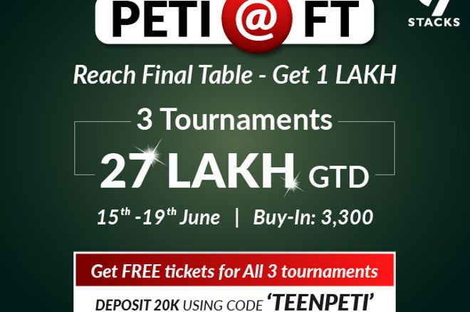 9stacks presents the Peti@FT tournament series