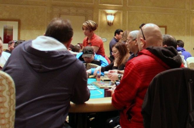 The Borgata poker room