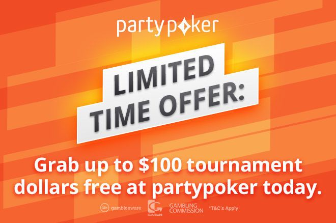 partypoker free tournament dollars