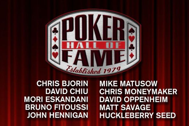 2018 Poker Hall of Fame Candidates