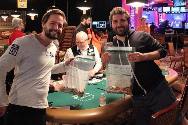 WSOP Little One Drop : Erwann Pecheux et François Tosques au Final Day 0001
