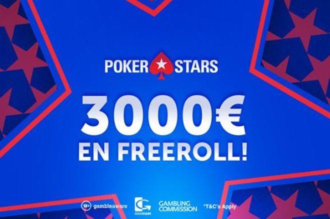Exclusif PokerNews : 3.000€ à gagner sur PokerStars 0001