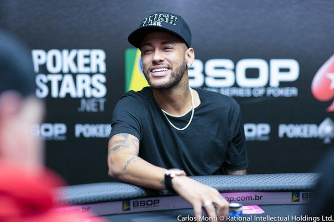 Hasil gambar untuk Neymar JR play poker