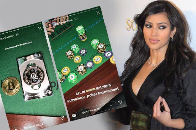 Kim Kardashian poker