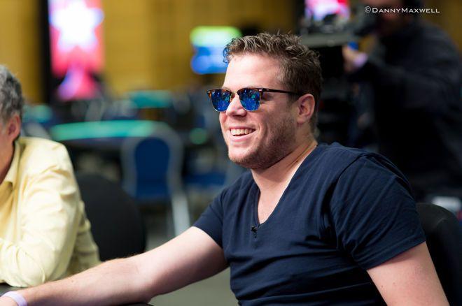 Paul Berende bij laatste vier van €330 Super Side Event bij WaSOP in Namen 0001