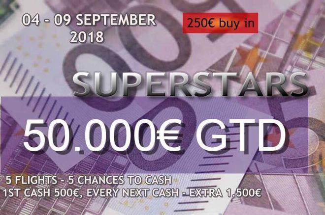 Ανακοινώθηκε το Finix Superstars September με €50,000 gtd και... 0001