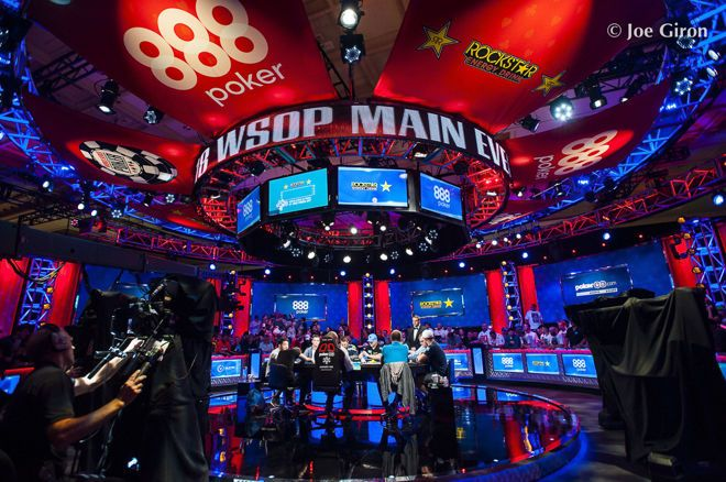 2018 World Series of Poker Main Event final table