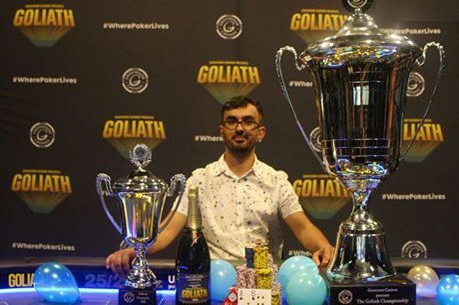 Florian Duta: 2018 GUKPT Goliath champion