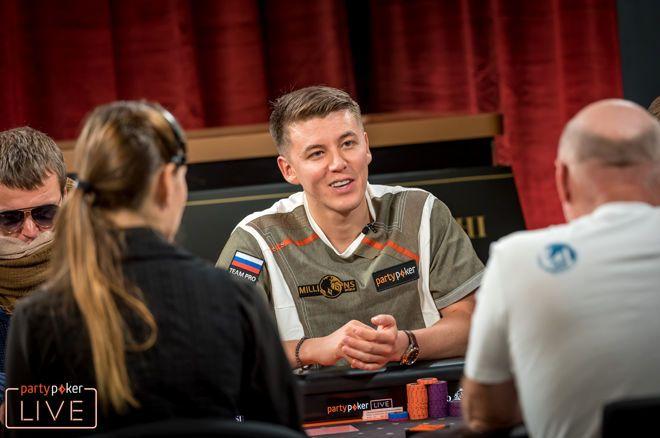 Denisov Leidt Laatste 200 Spelers op Dag 3 MILLIONS Main Event Sochi 0001