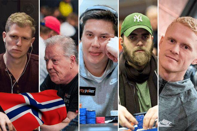 Ola Amundsgaard, Thor Hansen, Johnny Lodden, Felix Stephensen and Preben Stokkan