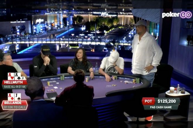 Hellmuth and Bellande Clash in a $235K Pot on Poker After Dark