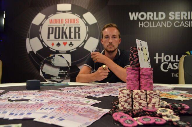 WSOP Circuit Rotterdam - Gieles wint High Roller, Vonk eerste Nederlandse speler met ring én bracelet!