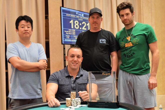 (L to R) Daniel Park, Justin Leed (Seated) Jacob Naumann, Donny Maloney