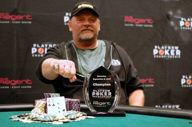 Rick Blom PlayNow Poker Championship Club Regent Casino