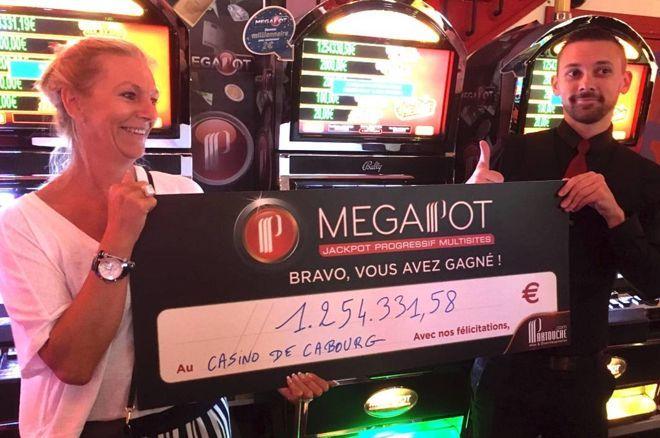 Cabourg : Elle remporte 1.2 million d'euros avec le Megapot Partouche 0001