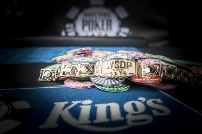 Ten Gold Bracelets to be Awarded at 2018 World Series of Poker Europe 0001