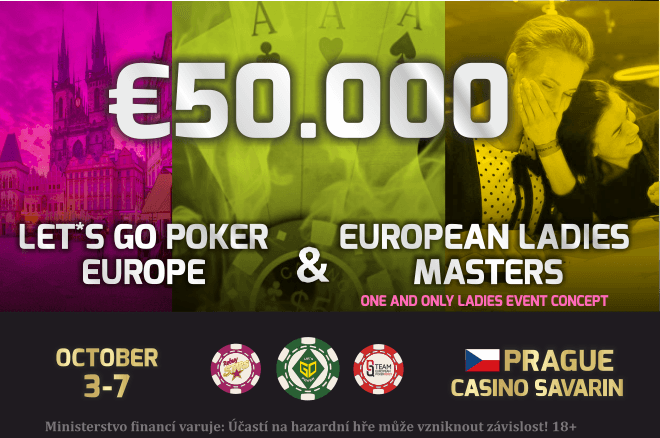 Let's Go Poker Event im Oktober in Prag 0001