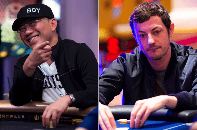 Paul Phua (left) and Tom Dwan (right)
