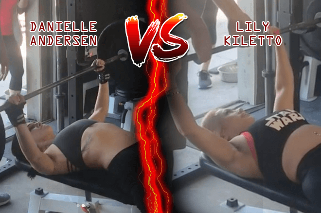 "Danielle ""DMoonGirl"" Andersen Defeats Lily Kiletto In Bench Press Bet"