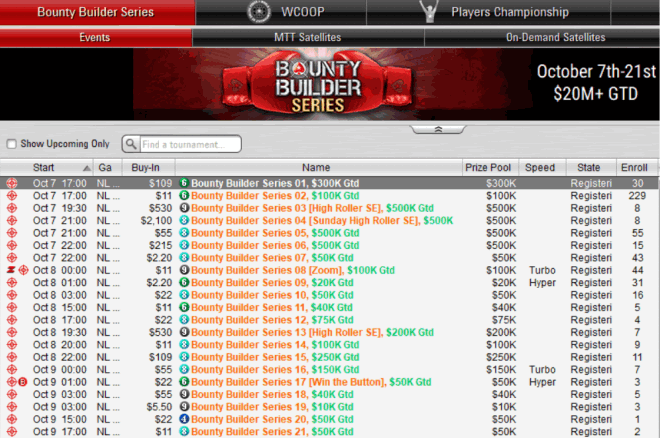 pokerstars bounty builder