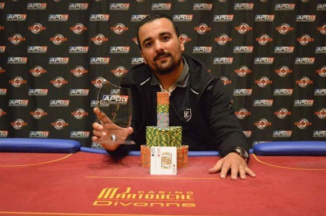 Boubekeur Benhalima remporte l'APO2500 (75.340€), finale pour Pierre Merlin et François Tosques 0001