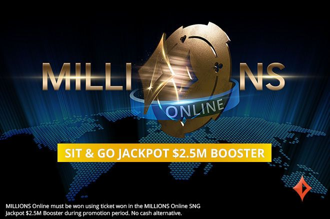MILLIONS Online $2.5 Million Booster