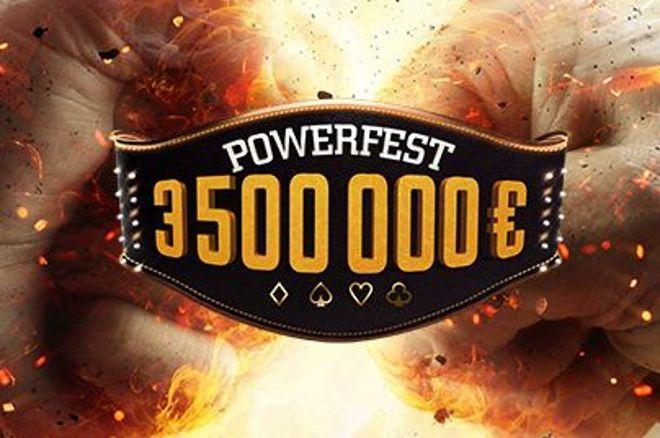 POWERFEST : 3,5 millions à gagner sur partypoker et PMU 0001