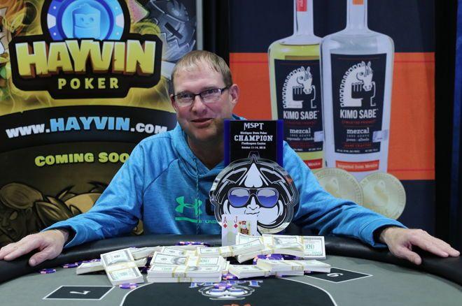Matt Stammen Wins 2018 MSPT Michigan Poker Championship for