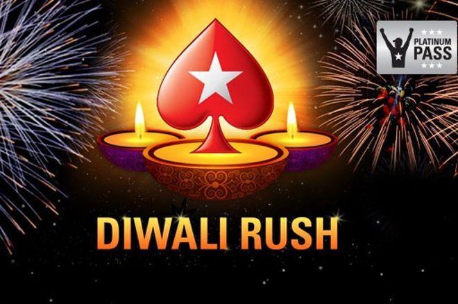 PokerStars India ₹1.5 Crore GTD poker tournament series DIWALI RUSH