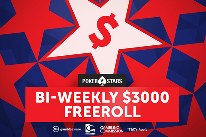 Join Our Next PokerStars $3,000 Freeroll at PokerStars This Sunday 0001