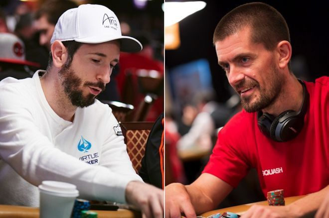Brian Rast (left) and Gus Hansen (right)