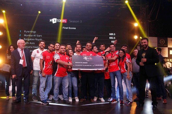 Raj Kundra Match Indian Poker League Season 3 Pune Kings winners