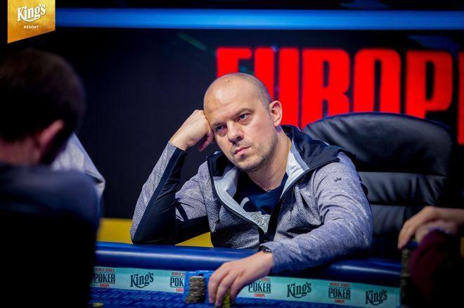 Красимир Янков финална маса WSOPE 2018 Main Event