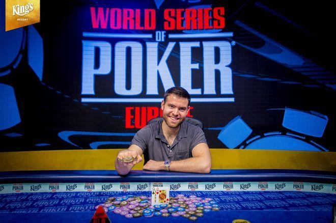 Main Event WSOP Europe : Premier bracelet et le million pour Jack Sinclair 0001