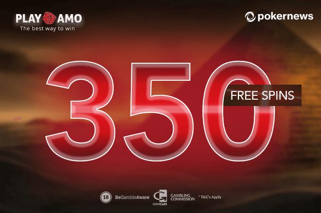 How To Get 350 Free Spins 550 In Bonus Cash Pokernews