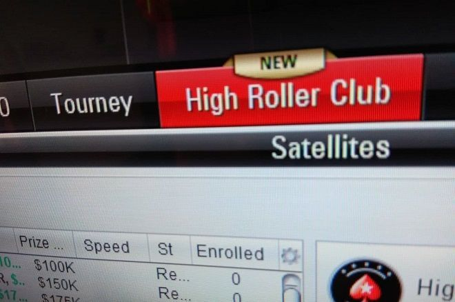 High Roller Club - PokerStars - Poker Online