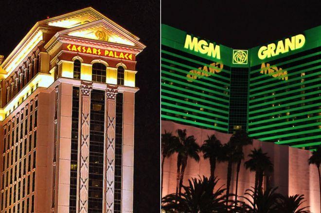 Caesars Palace and the MGM Grand, Las Vegas