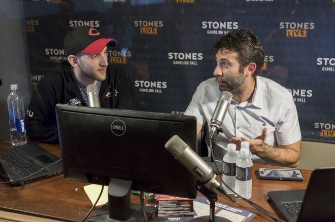 Jason Somerville & Joe Stapleton in the StonesLive commentary booth
