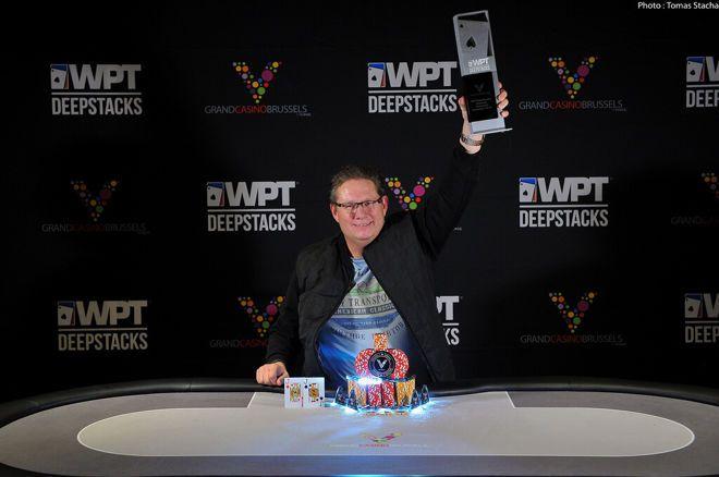 Danny Van Zijp Wins The WPT DeepStacks Brussels Main Event For €110,000