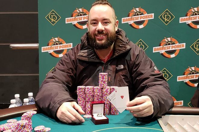 "Justin ""Ski"" Skamanis wins $500 Casino Regina event"