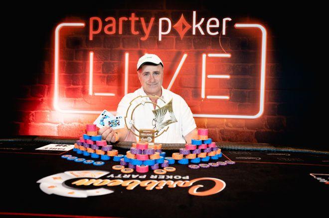 Giuseppe Iadisernia Wins partypoker's CPP $50,000 Super High Roller ($845,000)